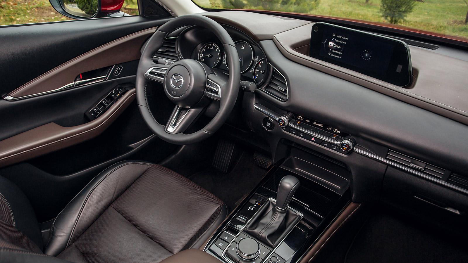 Кроссовер Mazda CX-30, который появится в России, получил высший балл за безопасность