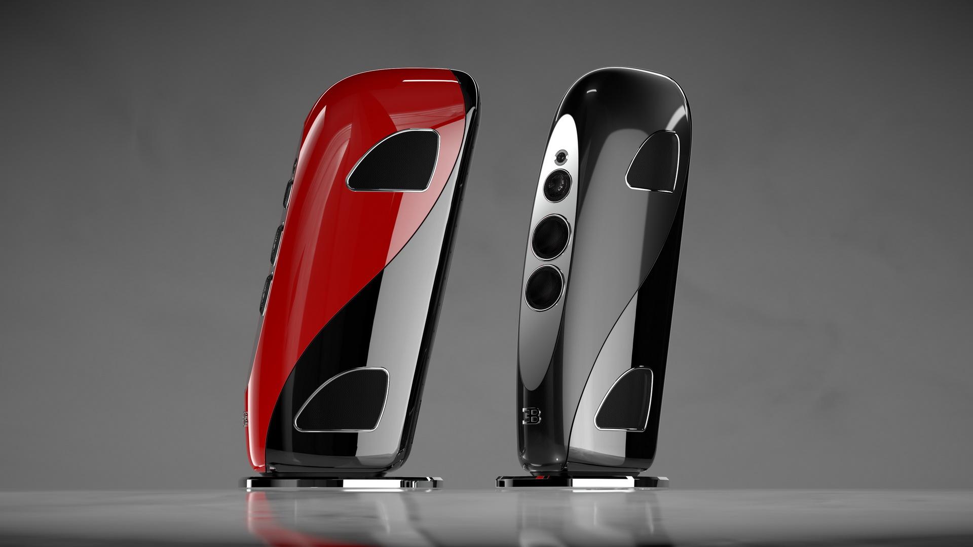 Bugatti и производитель аудиосистем Tidal сделали очень дорогую домашнюю акустику