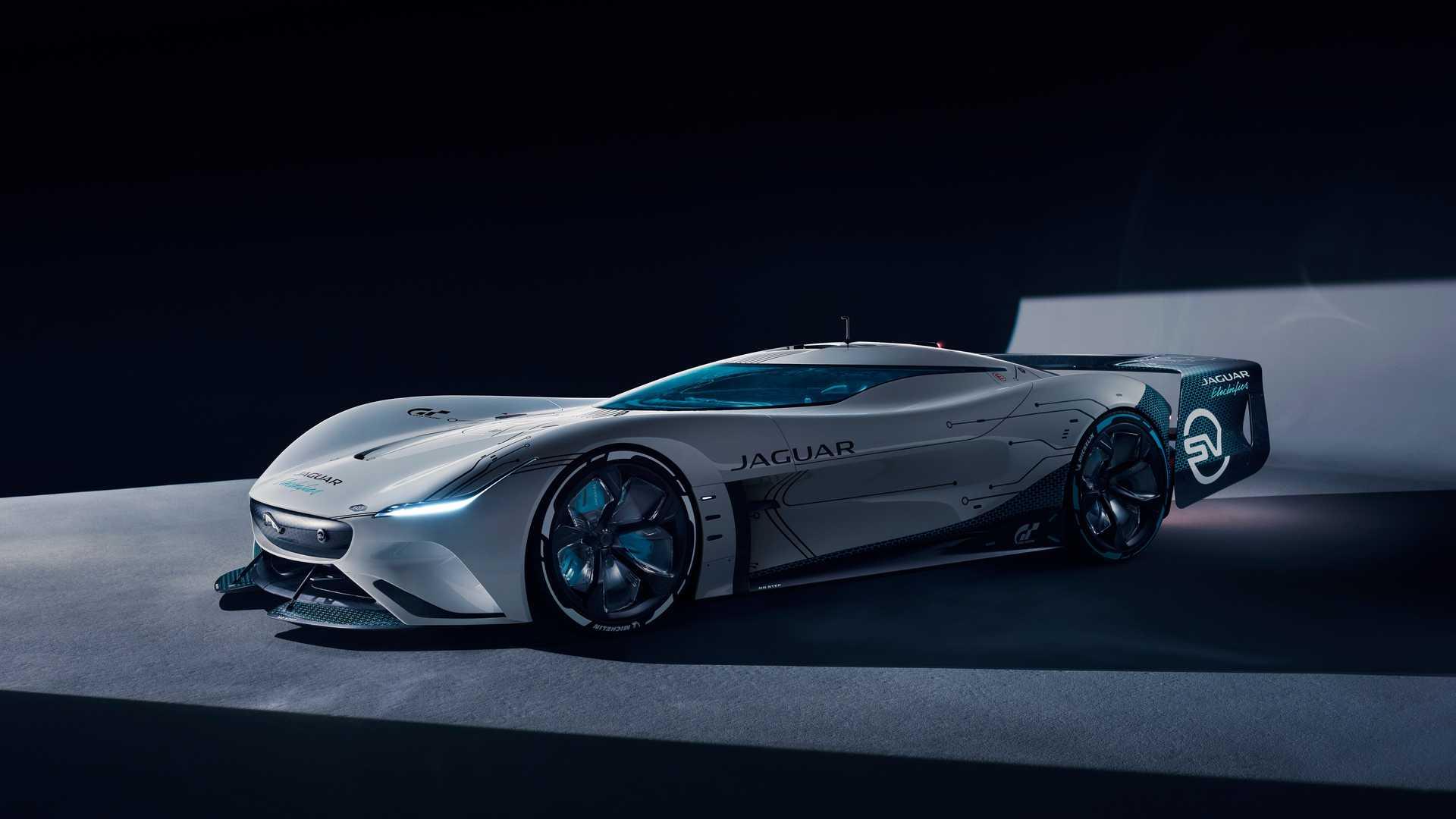 Представлен виртуальный гиперкар Jaguar: у него четыре электромотора мощностью 1903 силы