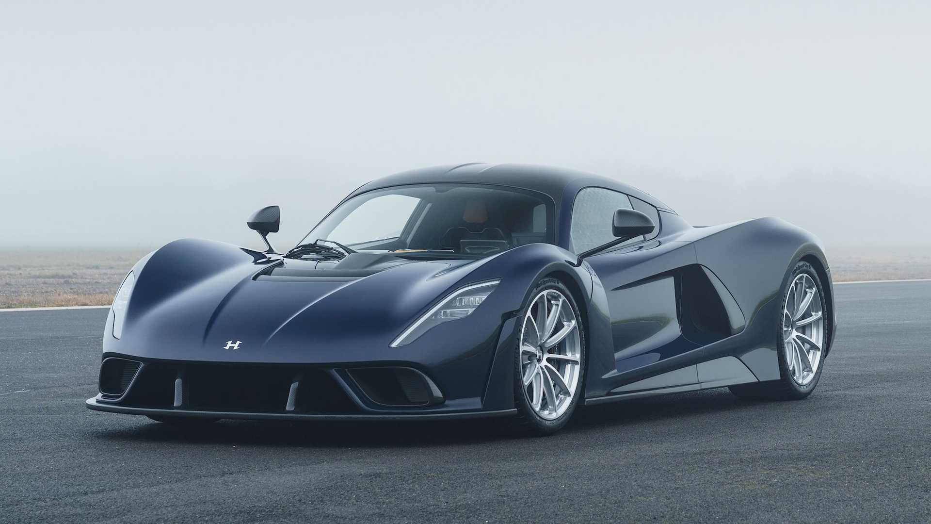 Гиперкар Hennessey Venom F5 рассекречен: разгоняется до 500 км/ч и стоит 154 млн рублей