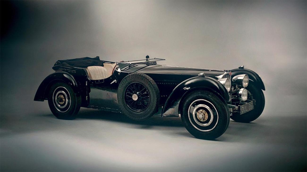 На аукцион выставят редчайший Bugatti Type 57S после 51 года в одних руках