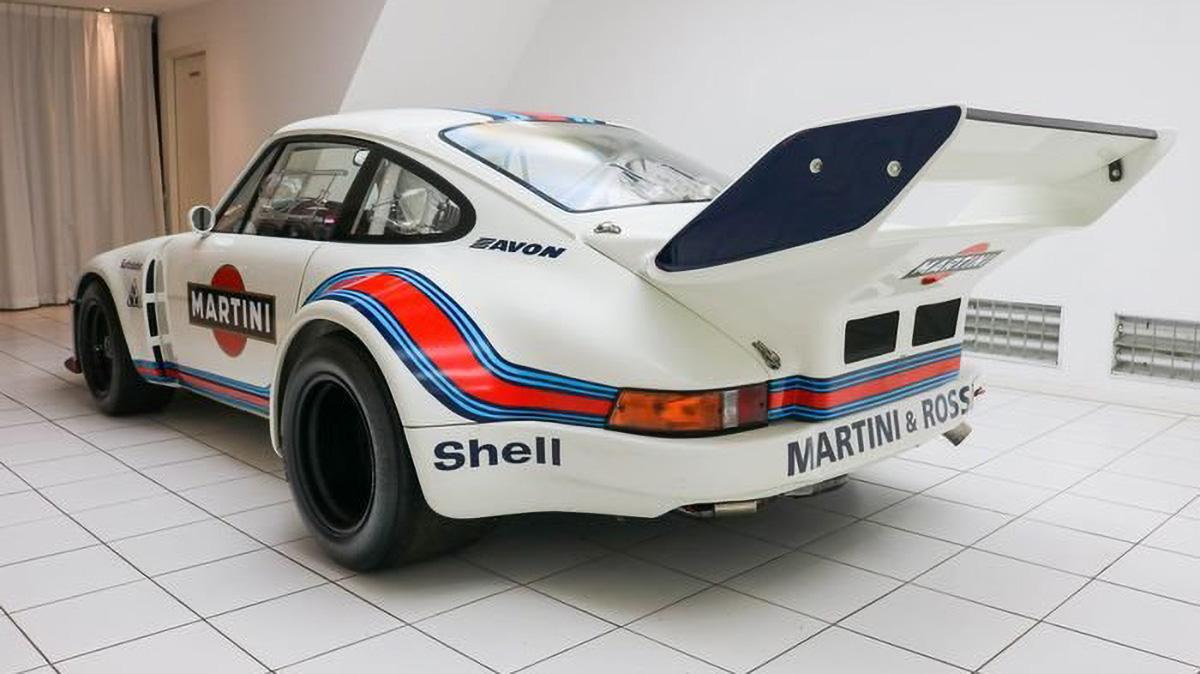 Легендарный Porsche 935 пустят с молотка за 24,5 миллиона рублей, но есть нюанс