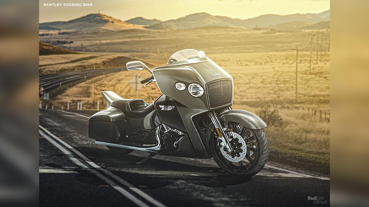 Взгляните, как могли бы выглядеть мотоциклы от Tesla или Bentley