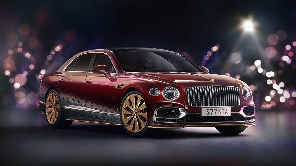 В Bentley вообразили седан Flying Spur для Санта-Клауса