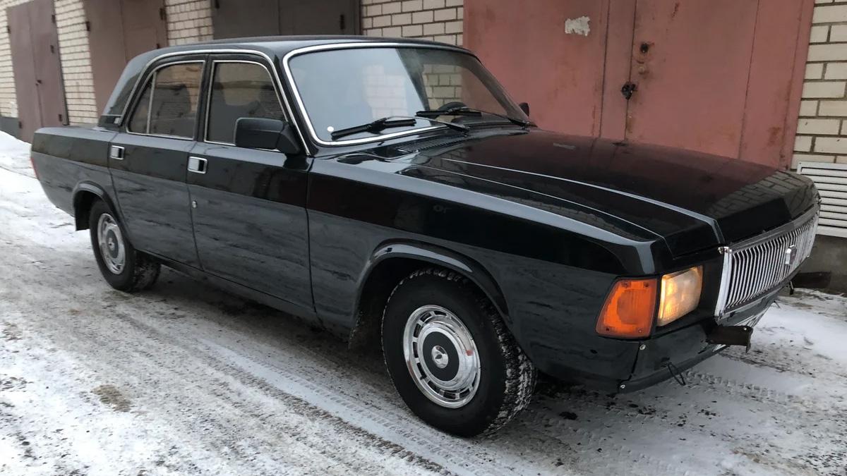 На продажу выставлена редкая «Волга» ГАЗ-3102 — «догонялка КГБ» с V8