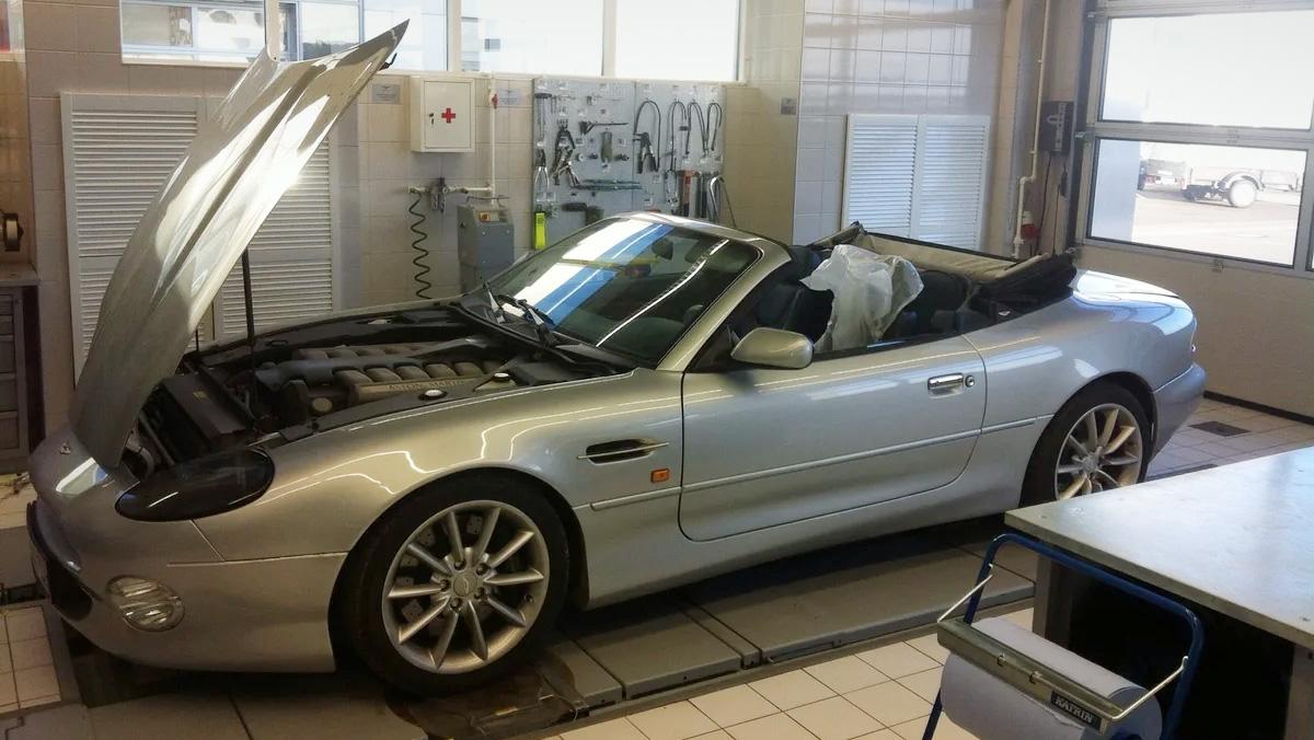 В России продают уникальный кабриолет Aston Martin, созданный для Франкфуртского автосалона