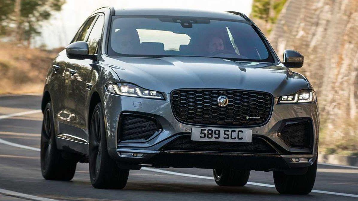 Названы цены обновлённого Jaguar F-Pace для России, и он подорожал