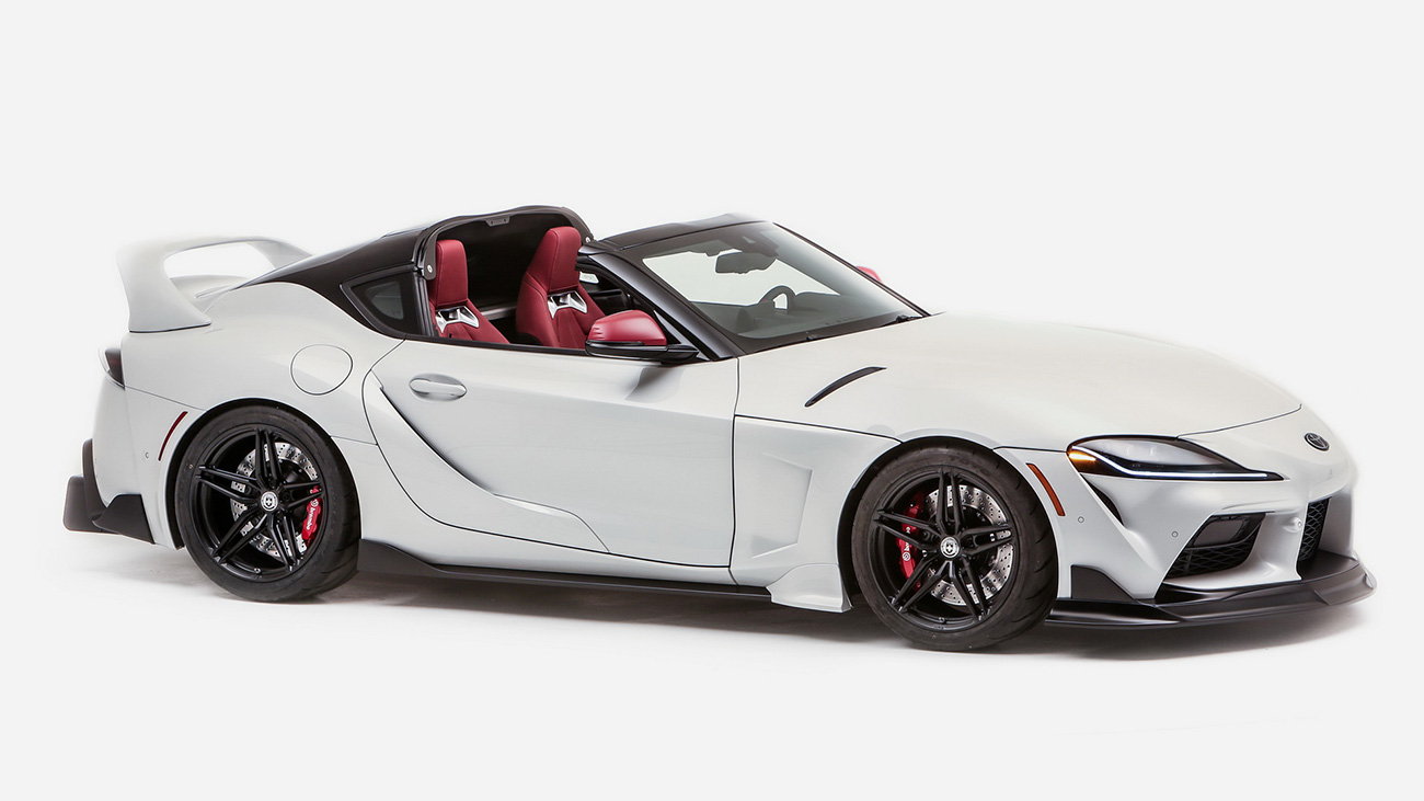 Toyota GR Supra без крыши рассекречена