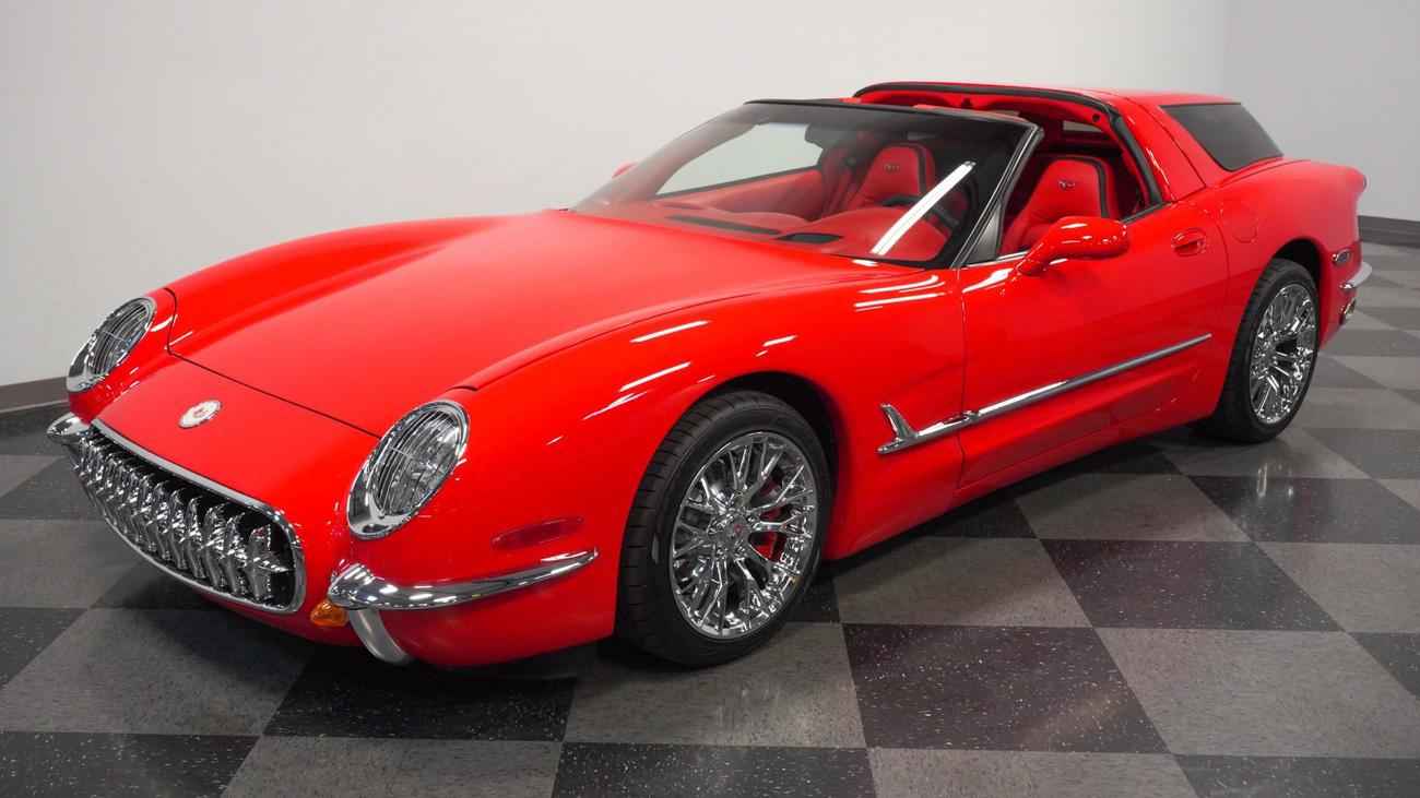Старый Chevrolet Corvette, превращённый в универсал, оценили дороже нового