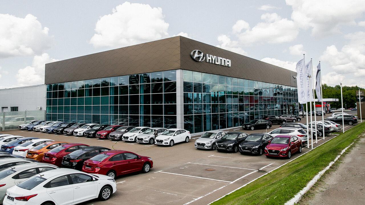 Марка Hyundai завершила создание дилерской сети в России
