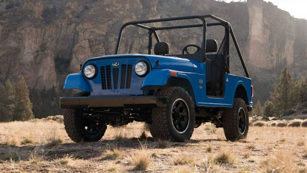 Индийскую копию винтажного Jeep разрешили продавать в США