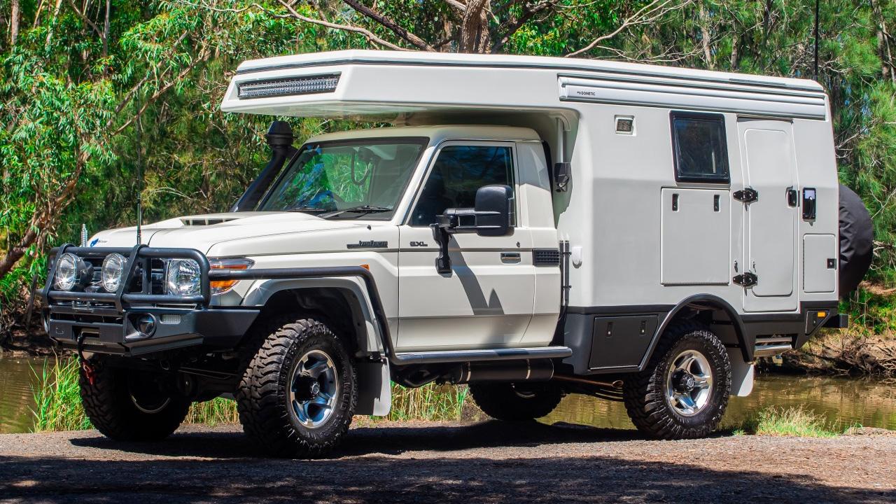 Таким Toyota Land Cruiser ещё не видели: его превратили в ультрасовременный автодом