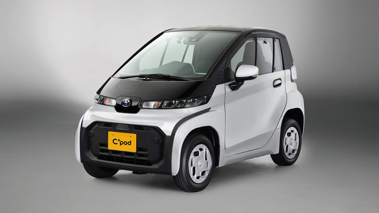 Toyota придумала крошечный электромобиль. Он меньше Смарта и кей-кара