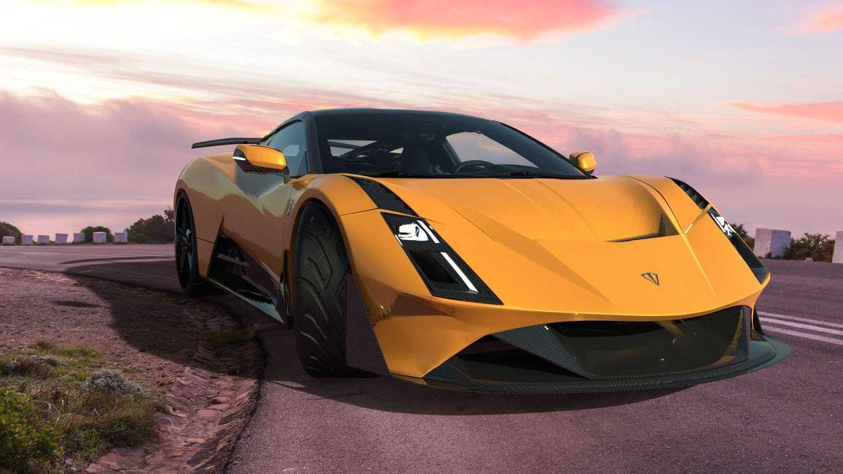 В Албании задумали суперкар с карбоновым кузовом и твин-турбо V8