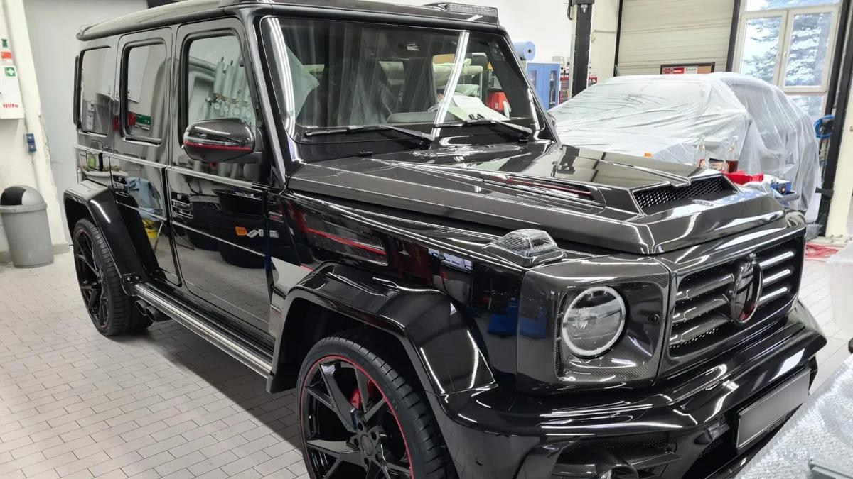 В России выставлен на продажу уникальный Гелик без пробега — за 29 990 000 рублей
