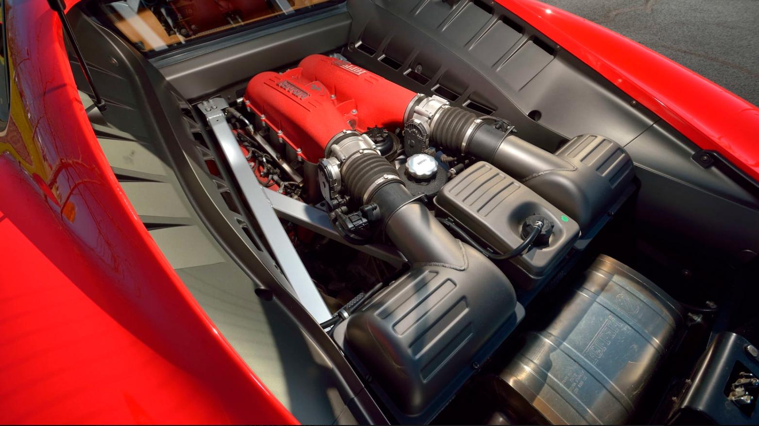 Ferrari F430 F1 Coupe Дональда Трампа