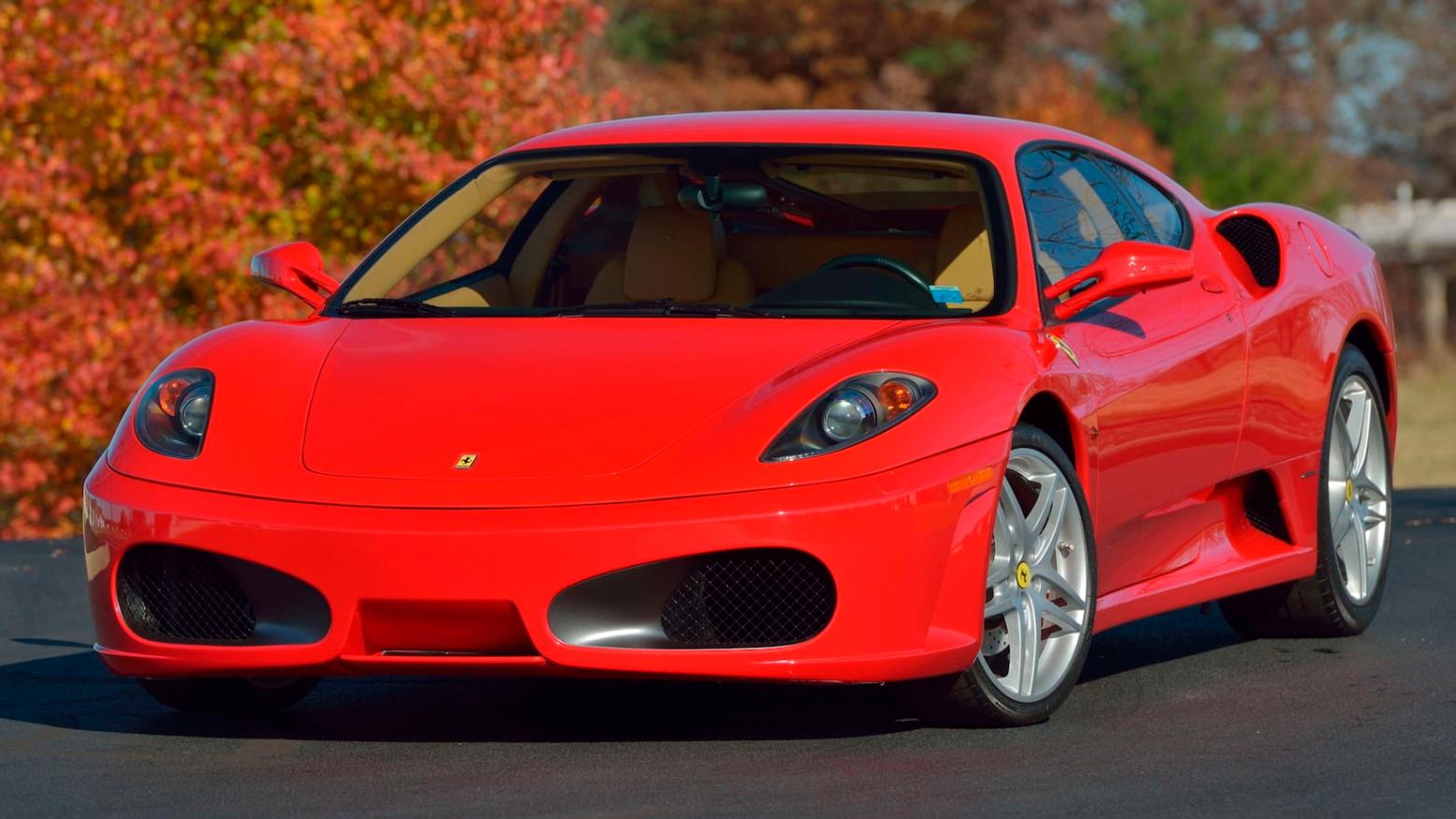 На аукцион выставят Ferrari последнего президента США