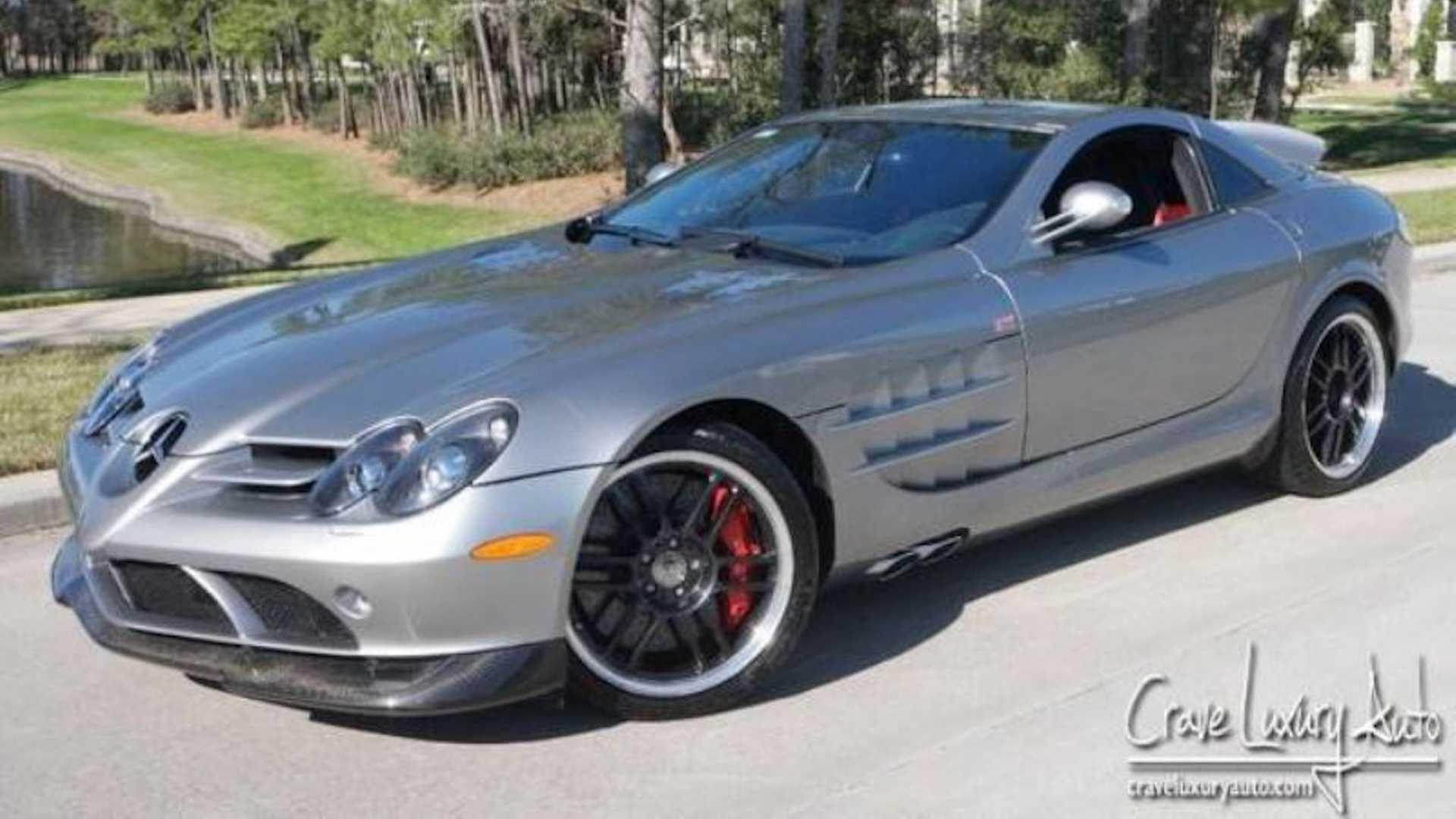 Продаётся редчайший Mercedes-Benz SLR McLaren из гаража Майкла Джордана