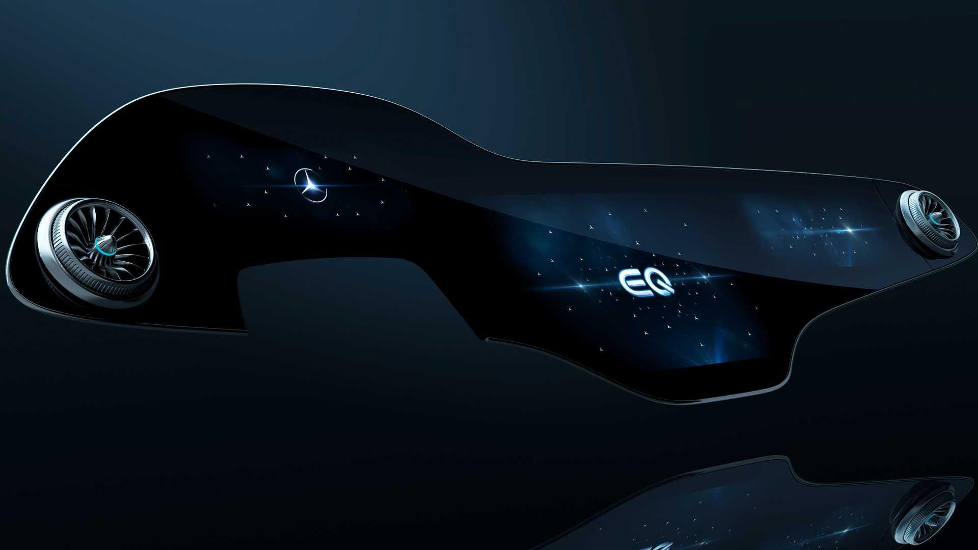 56 дюймов стекла: Mercedes-Benz показал «гиперэкран» для флагманского электрокара
