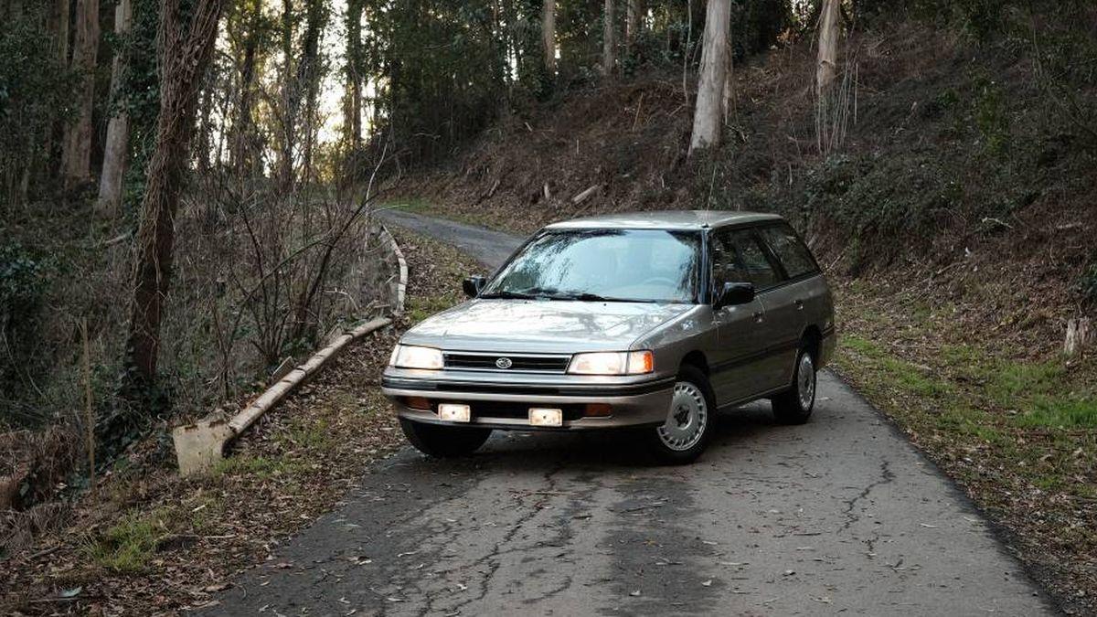 Subaru купила с рук 30-летнюю Legacy с большим пробегом. Теперь это экспонат