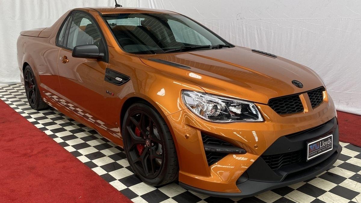 Редчайший ют Holden выставили на торги. Он уже стоит более полумиллиона долларов