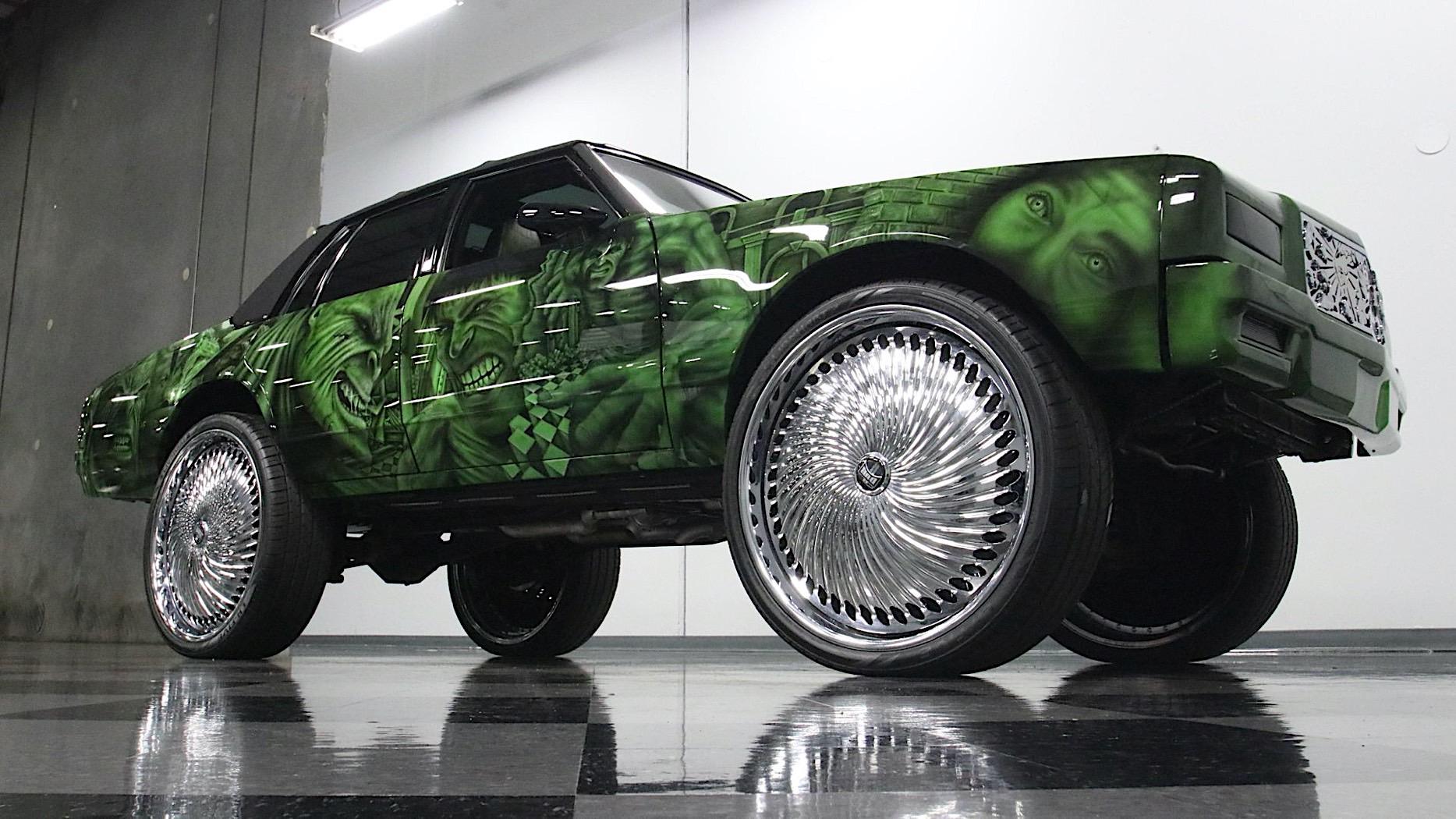 Продаётся уникальный Chevrolet Caprice в стиле «Халка» на 30-дюймовых колёсах