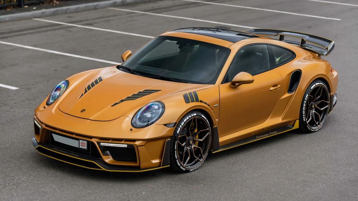 Пятилетний Porsche 911 Turbo S продают по цене нового — у него эксклюзивный тюнинг