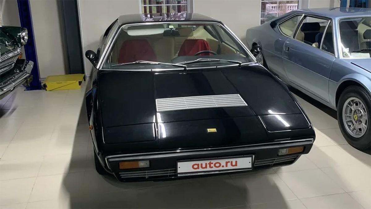 Редкий Ferrari 1975 года с двухлитровым V8 выставили на продажу на Авто.ру
