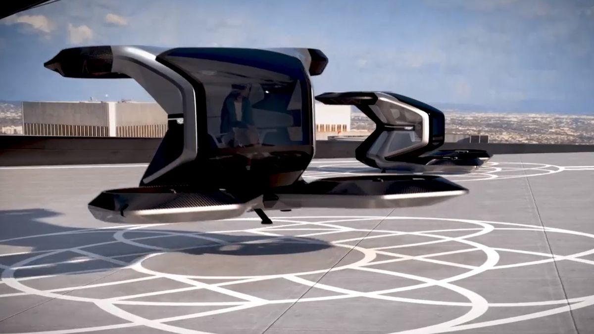 Cadillac представил роскошный персональный дрон