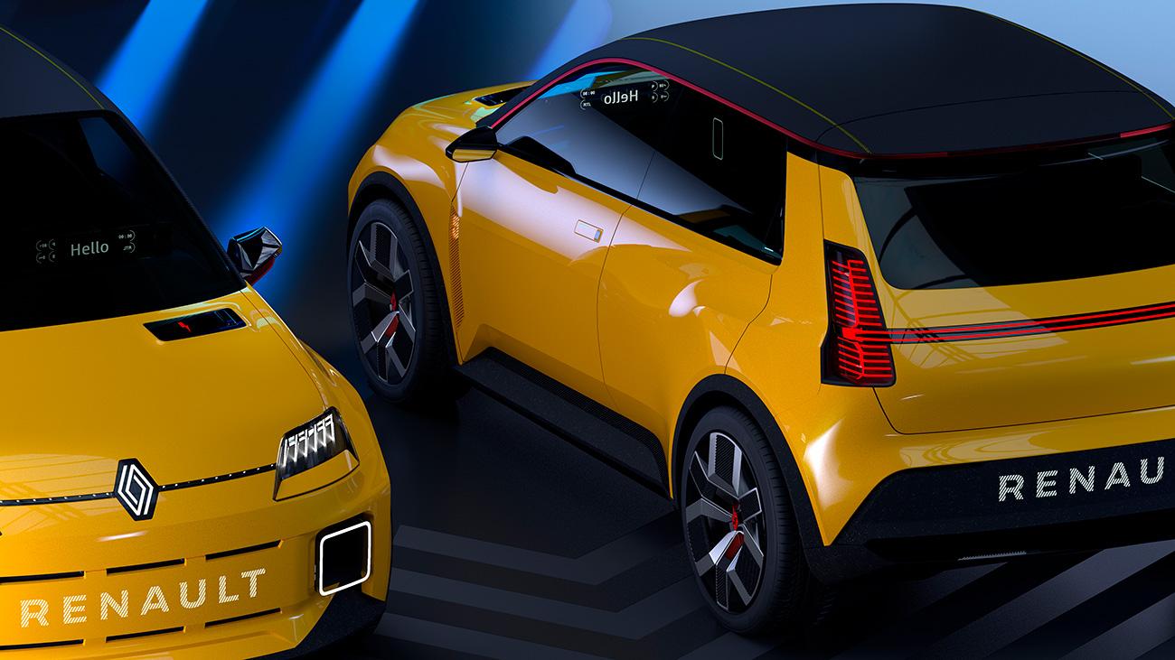 Марка Renault представила возрождённый хэтчбек 5
