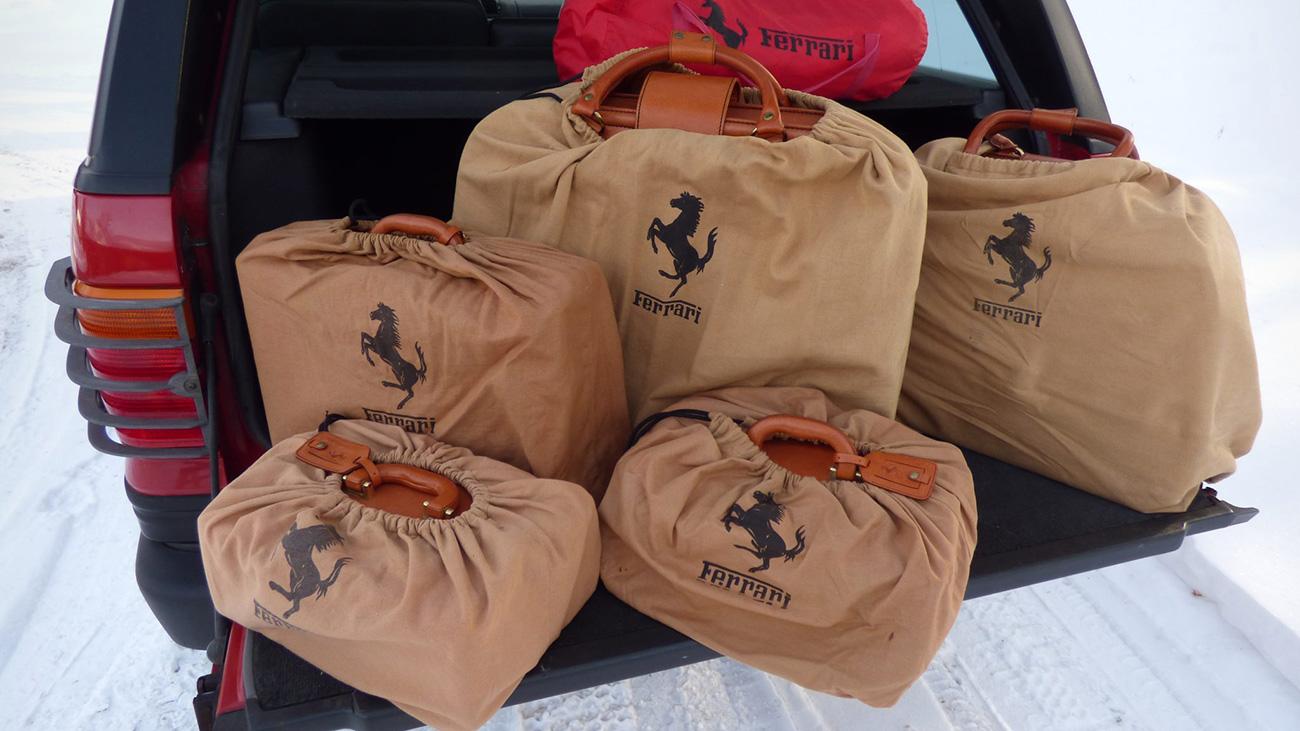 Пять подержанных сумок для Ferrari продают по цене новой Lada Granta