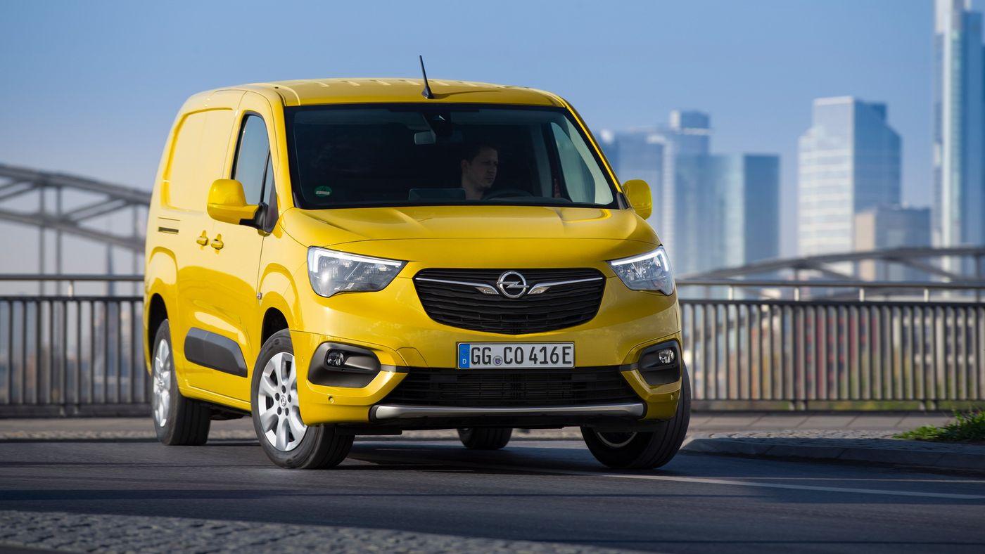 У фургона Opel Combo появилась электроверсия с запасом хода 275 км