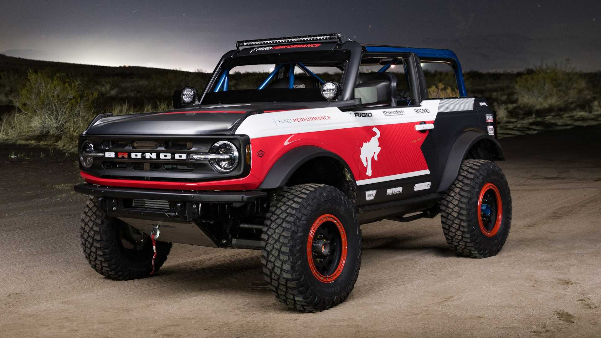 Представлен раллийный Ford Bronco с штатным V6 — он поедет на марафон Baja 1000