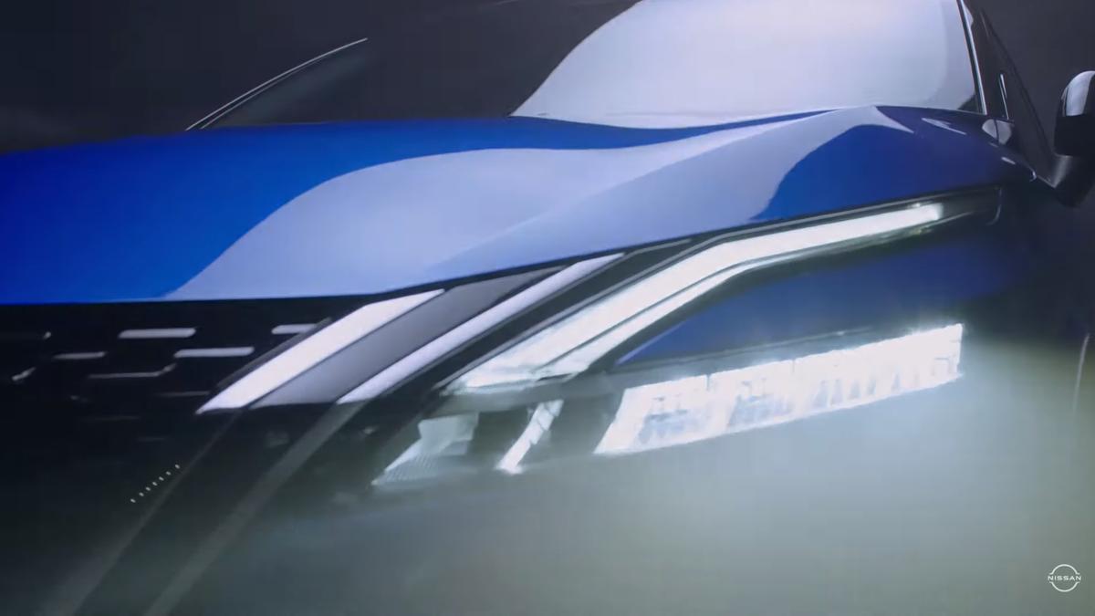 Новый Nissan Qashqai: официальное видео
