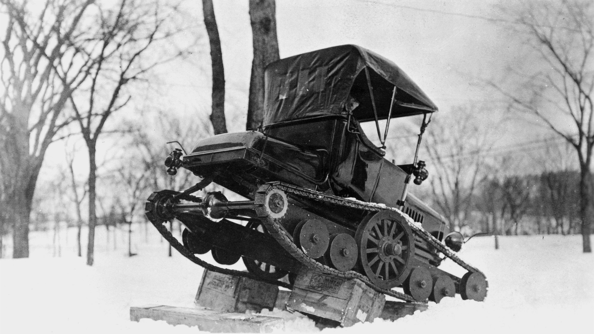 Ford Model T Snowmobile (1922)
