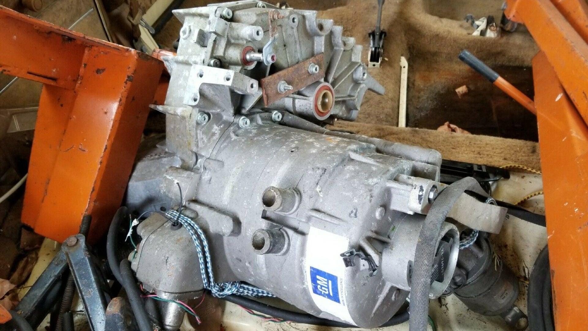 В продаже появился двигатель редчайшего электрокара, который был уничтожен