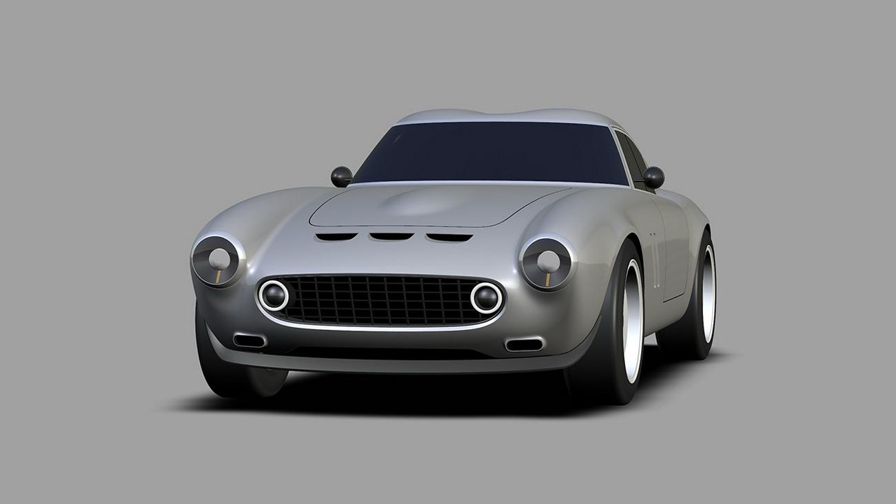 Вот так будет выглядеть современный вариант классического Ferrari 250 GTO