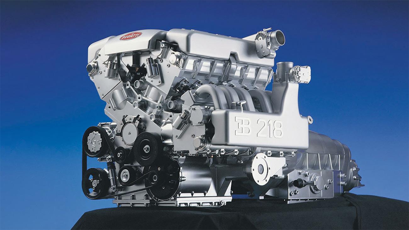Экспериментальный атмосферный W18 Bugatti: 563л.с., 650Нм и 315кг