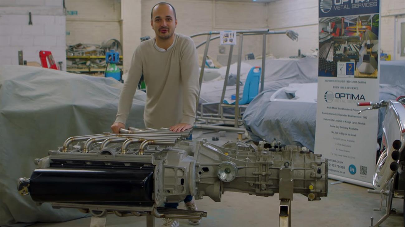 Экспериментальный оппозитный мотор X20 (Источник: Drivetribe)