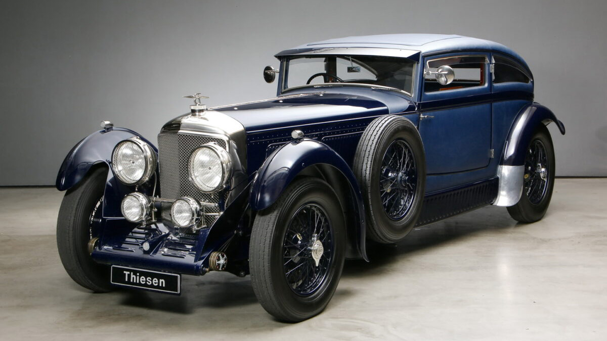 Реплику редчайшего Bentley оценили в 36 миллионов рублей