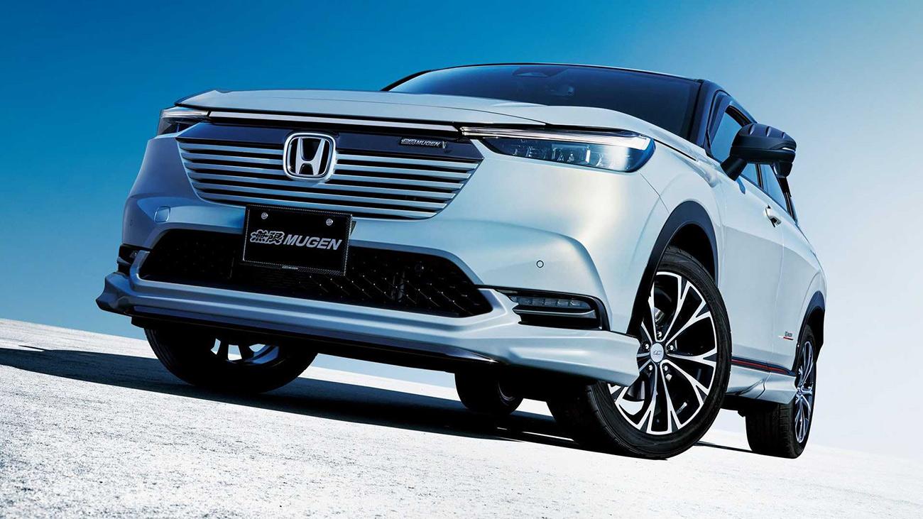 Новый кроссовер Honda HR-V получил первый комплект тюнинга от Mugen