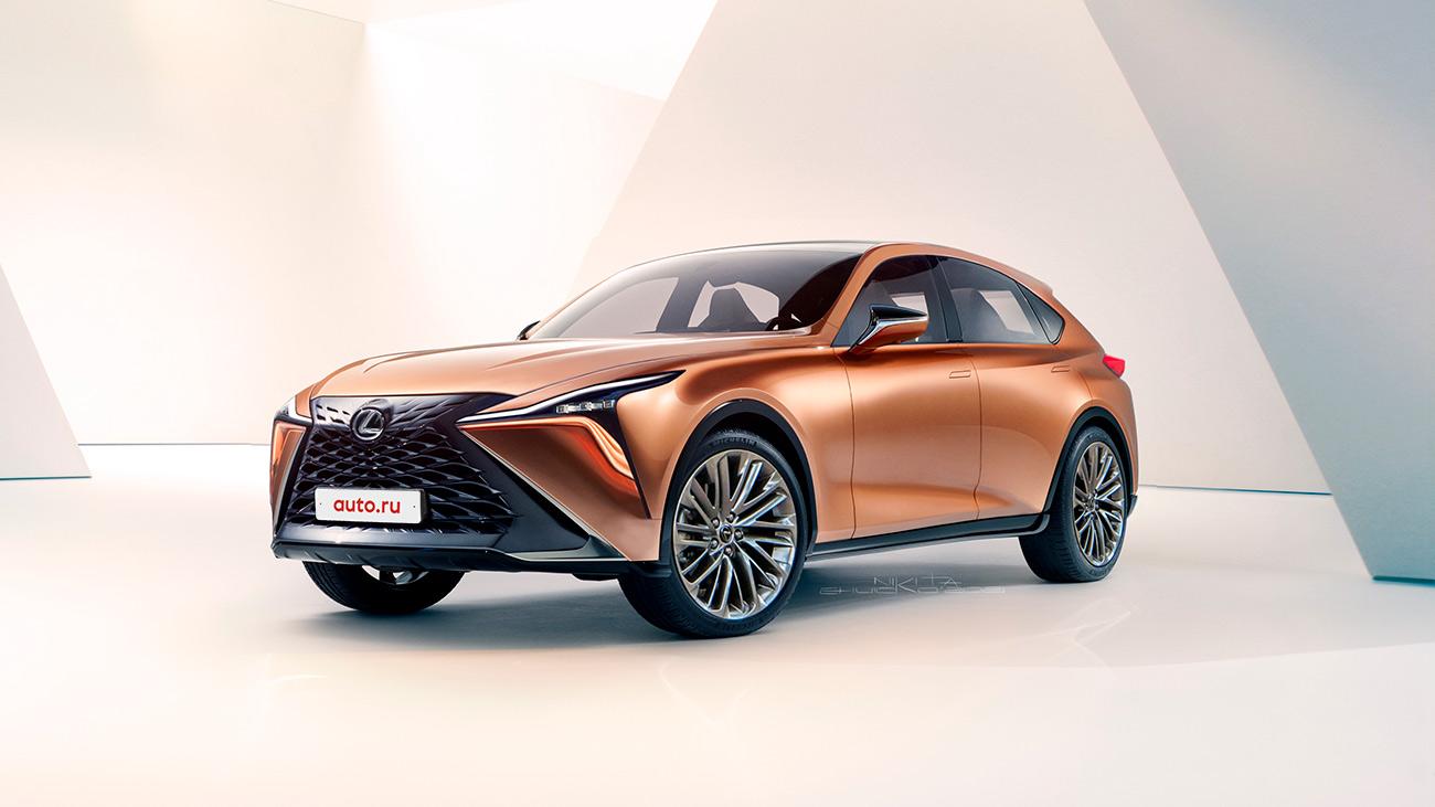 Каким будет самый роскошный кроссовер Lexus: наша версия