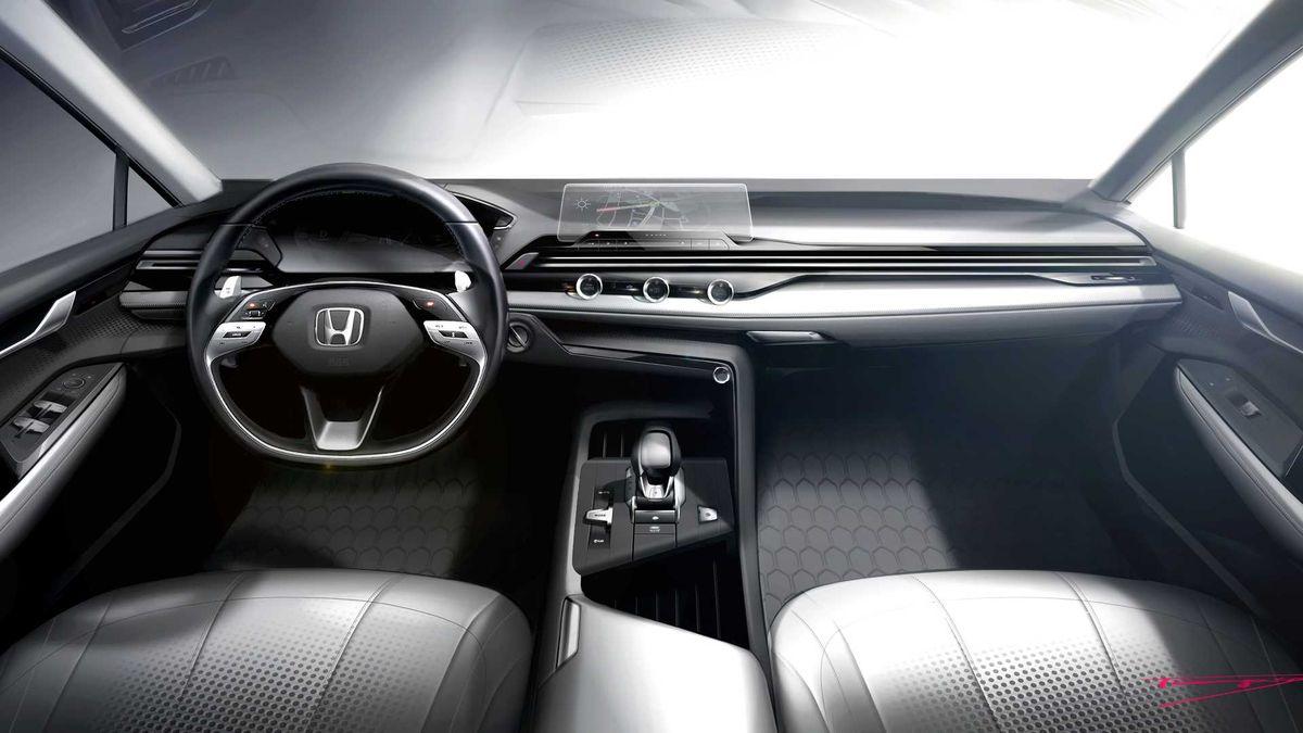Так будут выглядеть интерьеры автомобилей Honda в будущем
